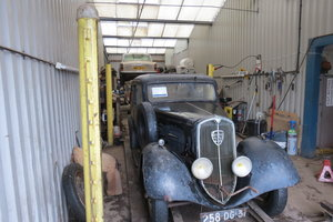Picture of 1935 Fresh import Peugeot 201d for restoration
