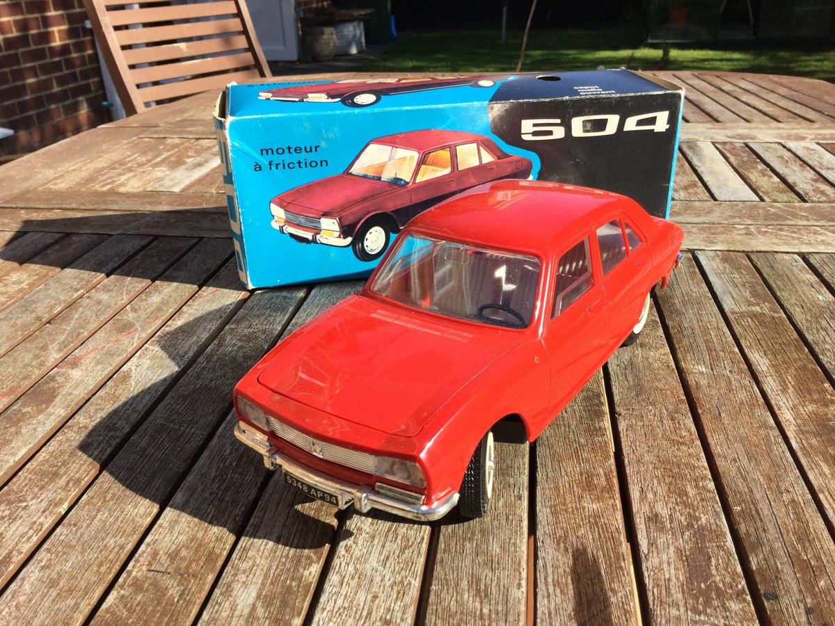 Jouet Peugeot 504  1/18 scale model For Sale (picture 1 of 4)