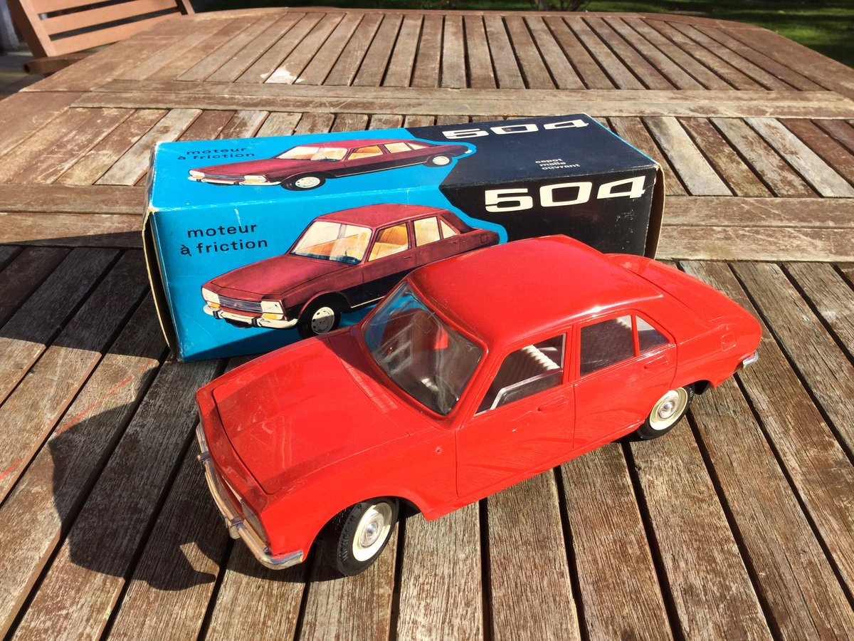 Jouet Peugeot 504  1/18 scale model For Sale (picture 2 of 4)