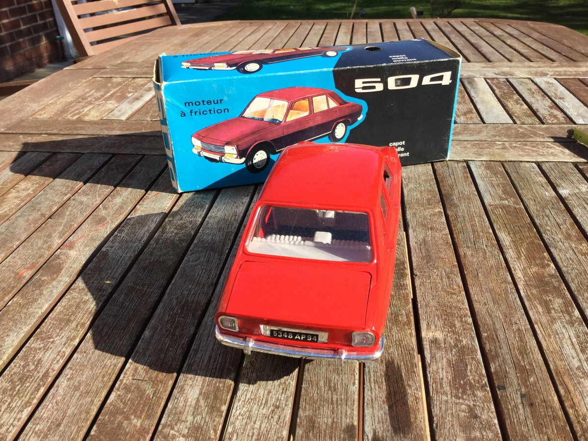Jouet Peugeot 504  1/18 scale model For Sale (picture 4 of 4)