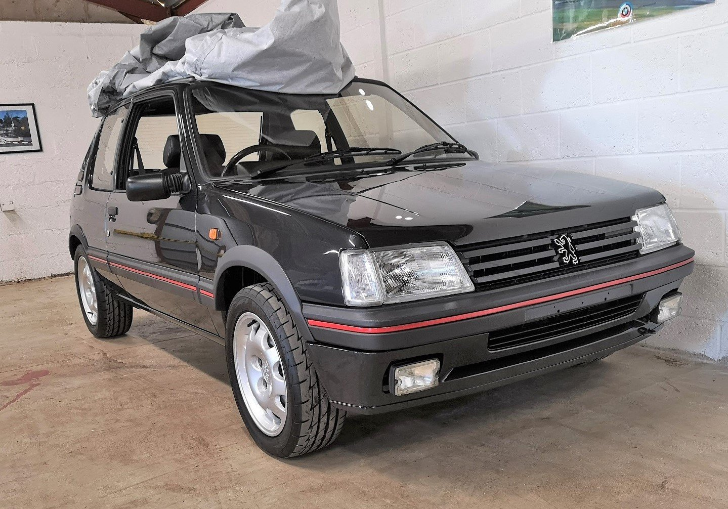 1991 Peugeot 205 GTI 1.9,65,534 miles,A/C,Seibu Japan SOLD (picture 1 of 6)