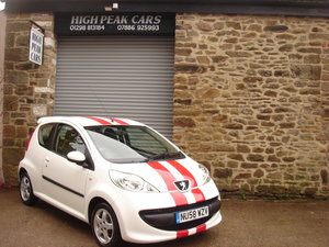 Picture of 2009 58 PEUGEOT 107 1.0 SPORT 3DR. 43772 MILES. £20 RFL. For Sale