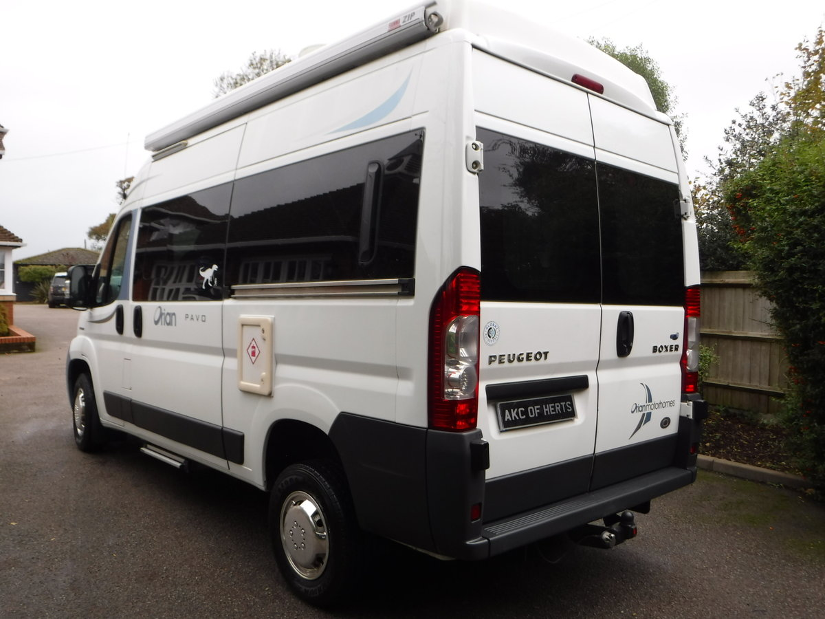 2008 Orian Pavo Autosleeper 3 Berth 3 Belts For Sale (picture 2 of 6)