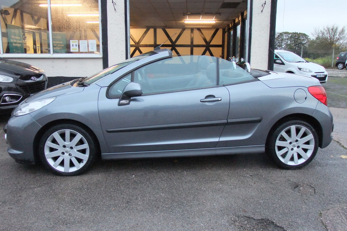 2008 PEUGEOT 207 1.6 GT COUPE CABRIOLET 2DR For Sale (picture 2 of 6)