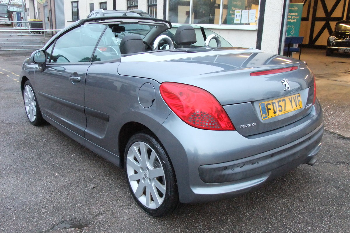 2008 PEUGEOT 207 1.6 GT COUPE CABRIOLET 2DR For Sale (picture 3 of 6)