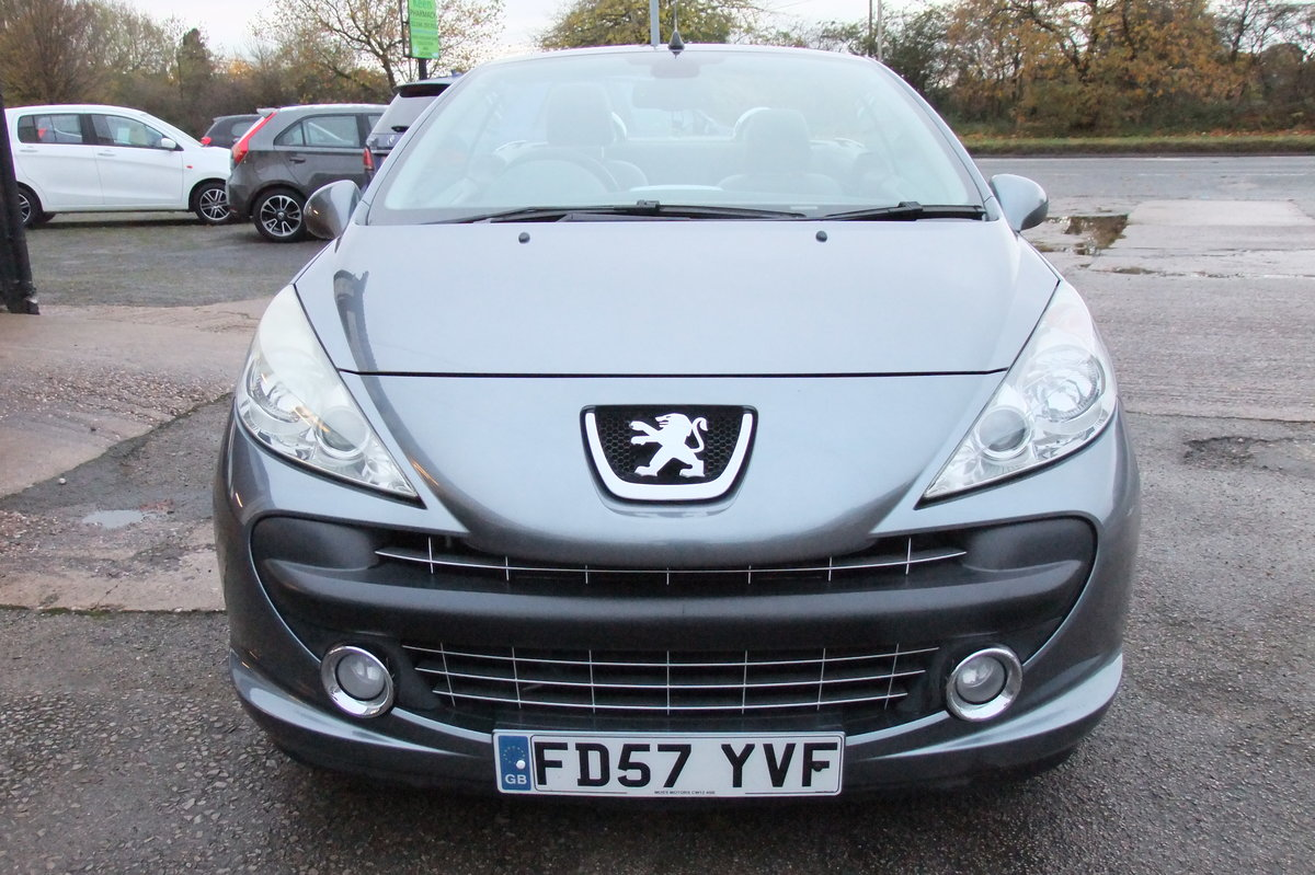2008 PEUGEOT 207 1.6 GT COUPE CABRIOLET 2DR For Sale (picture 4 of 6)