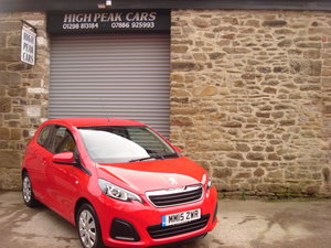 Picture of 2015 15 PEUGEOT 108 1.0 ACTIVE 3DR. 21045 MILES. £0 RFL. For Sale
