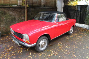 Picture of 1973 peugeot 304 s conertible