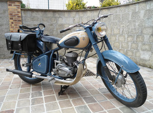 Peugeot 57TC 1955 (125cc) ...NOW SOLD