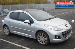 Picture of 2011  Peugeot 207 Allure Auto 82,718 Miles for auction 17th