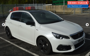 2018 Peugeot 308 GT Line Blue HDI 14,145 miles for auction