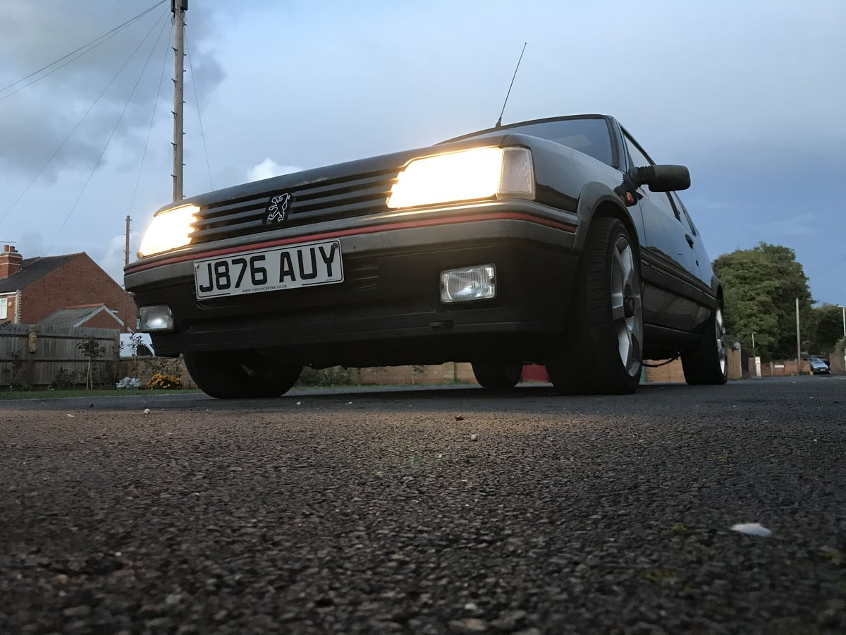 1992 205 GTi 1.6 Sorrento Green For Sale (picture 1 of 6)