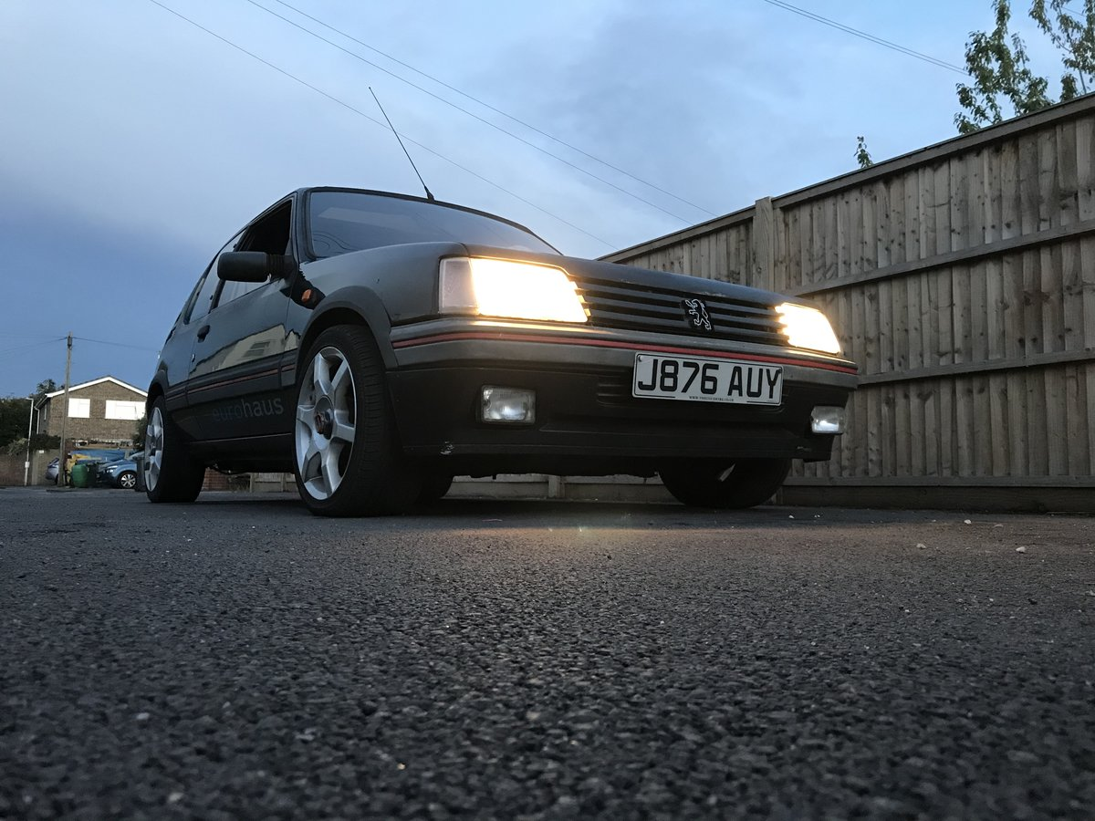 1992 205 GTi 1.6 Sorrento Green For Sale (picture 6 of 6)