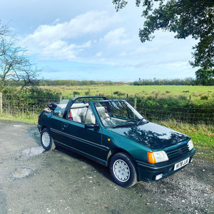 Picture of 1990 Peugeot 205 Roland Garros Convertible For Sale