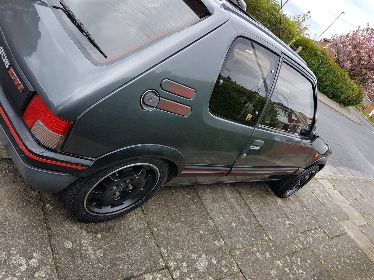 1990 Peugeot 205 Gti For Sale (picture 1 of 10)