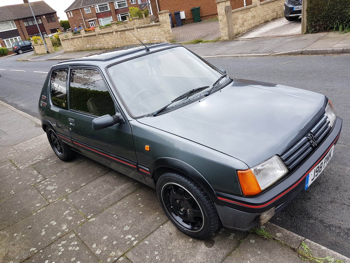 1990 Peugeot 205 Gti For Sale (picture 9 of 10)
