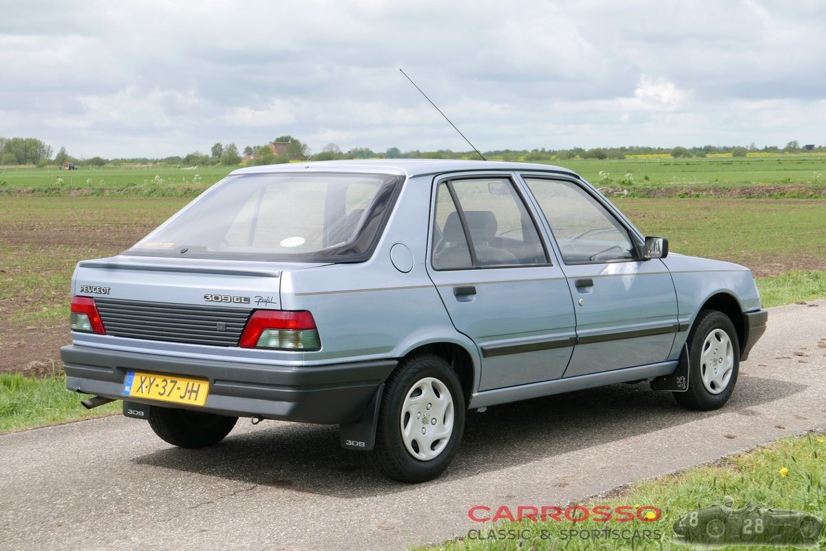1990 Peugeot 309 1.4 GL with only 129.356 KM.! For Sale (picture 2 of 12)