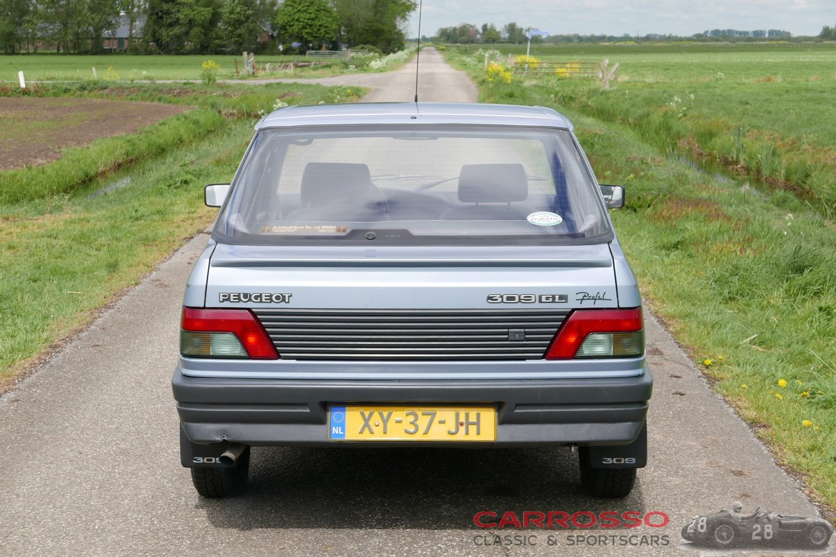 1990 Peugeot 309 1.4 GL with only 129.356 KM.! For Sale (picture 10 of 12)