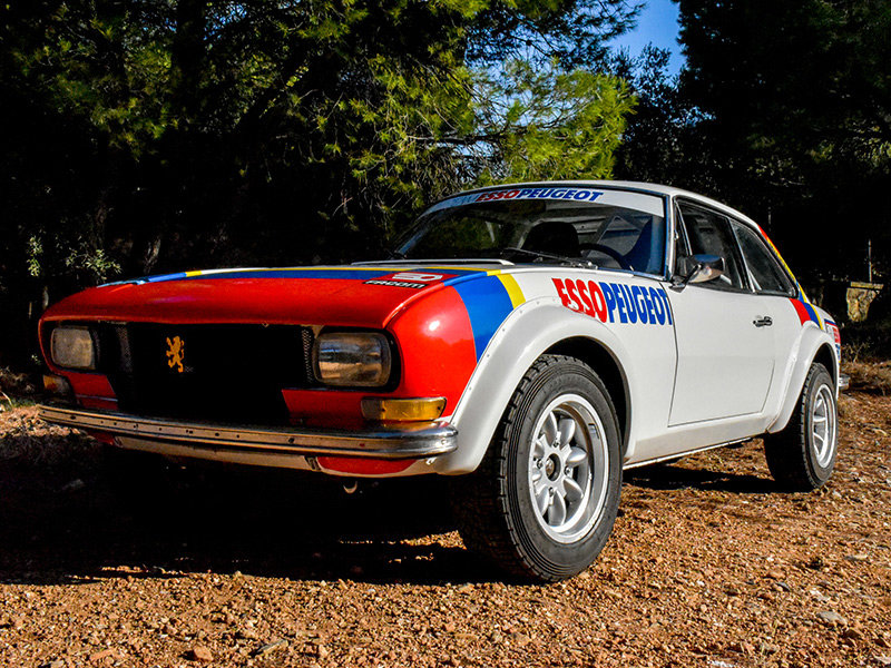 1973 Peugeot 504 Wide-Bodied Coupe Rally Car For Sale (picture 1 of 9)