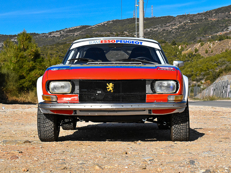 1973 Peugeot 504 Wide-Bodied Coupe Rally Car For Sale (picture 2 of 9)