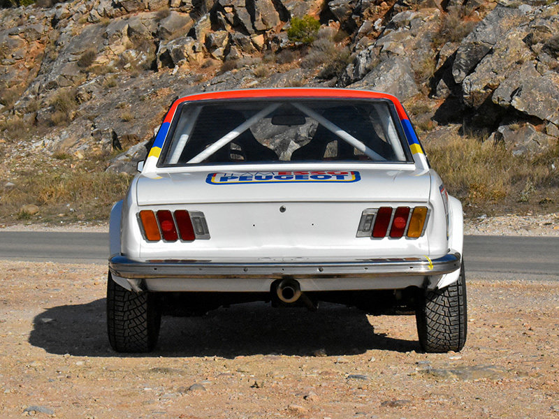 1973 Peugeot 504 Wide-Bodied Coupe Rally Car For Sale (picture 3 of 9)