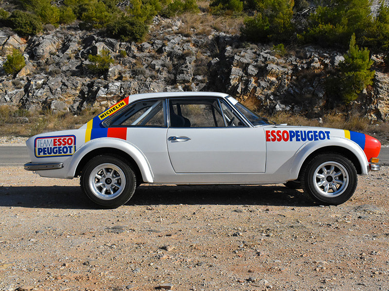 1973 Peugeot 504 Wide-Bodied Coupe Rally Car For Sale (picture 4 of 9)