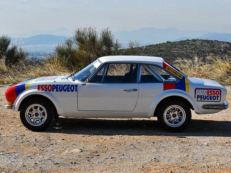 1973 Peugeot 504 Wide-Bodied Coupe Rally Car For Sale (picture 5 of 9)