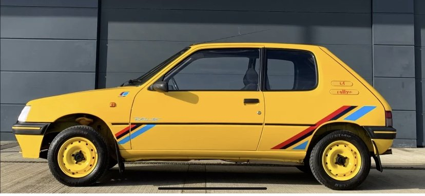 1992 Peugeot 205 Rallye For Sale (picture 2 of 12)