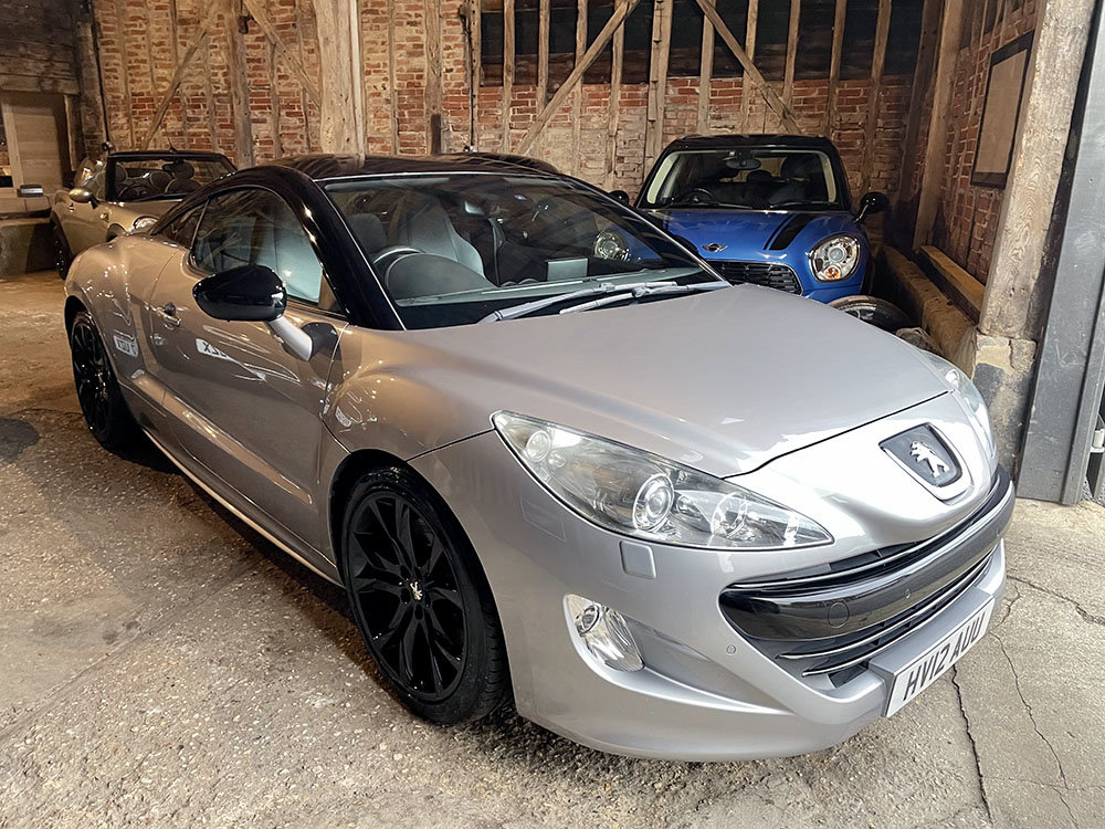 2012 Peugeot RCZ 1.6 THP GT 200 Sat Nav+RAC Approved For Sale (picture 1 of 1)