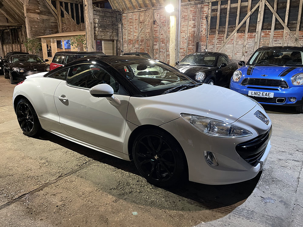2012 Peugeot RCZ 1.6 THP GT 200 Low Mileage+RAC Approved For Sale (picture 1 of 1)