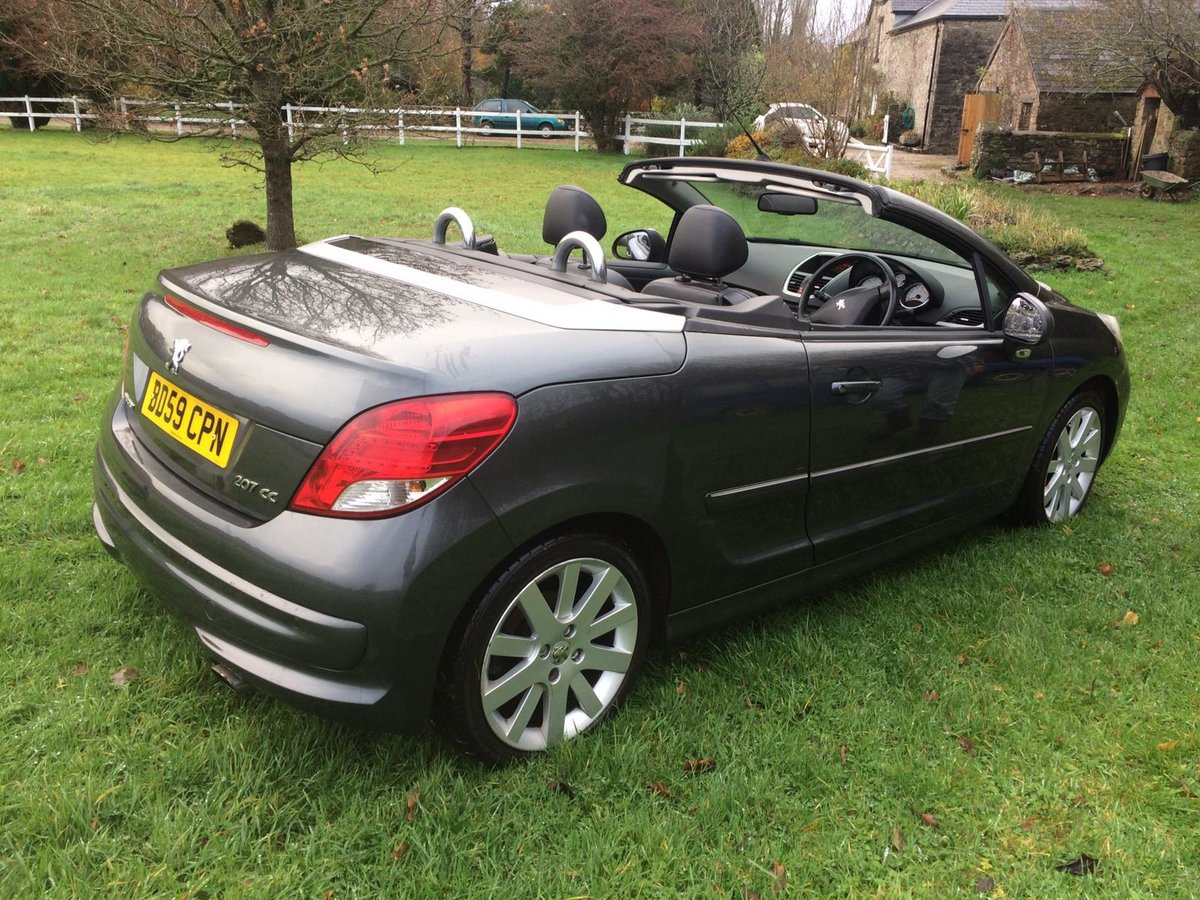 2010 Diesel Peugeot convertible For Sale (picture 4 of 8)