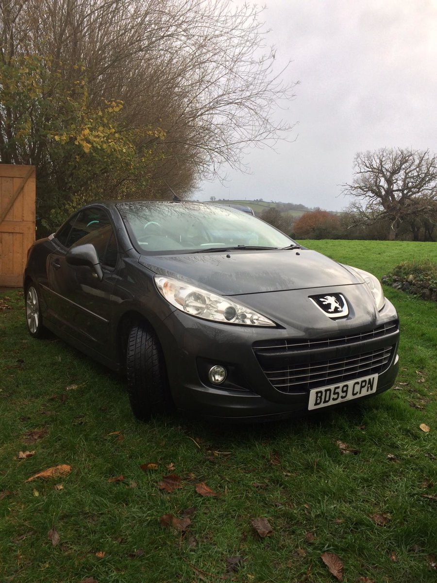 2010 Diesel Peugeot convertible For Sale (picture 5 of 8)