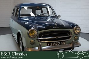 Picture of Peugeot 403 Commerciale 1959 Rare model For Sale