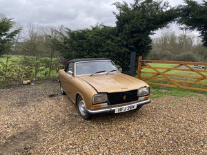 1975 Peugeot 304 S Cabriolet RHD Project