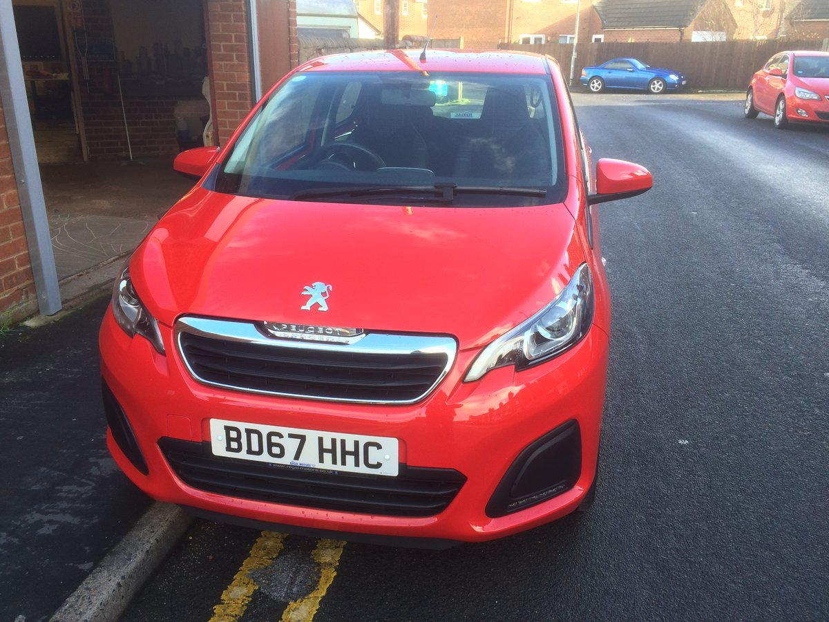 2017 PEUGEOT 108 ACTIVE 1.0 For Sale (picture 2 of 7)