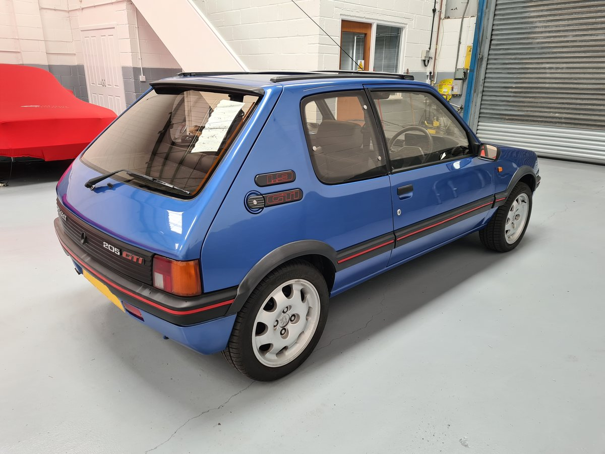 1990 Peugeot 205 GTi 1.9 For Sale (picture 4 of 12)