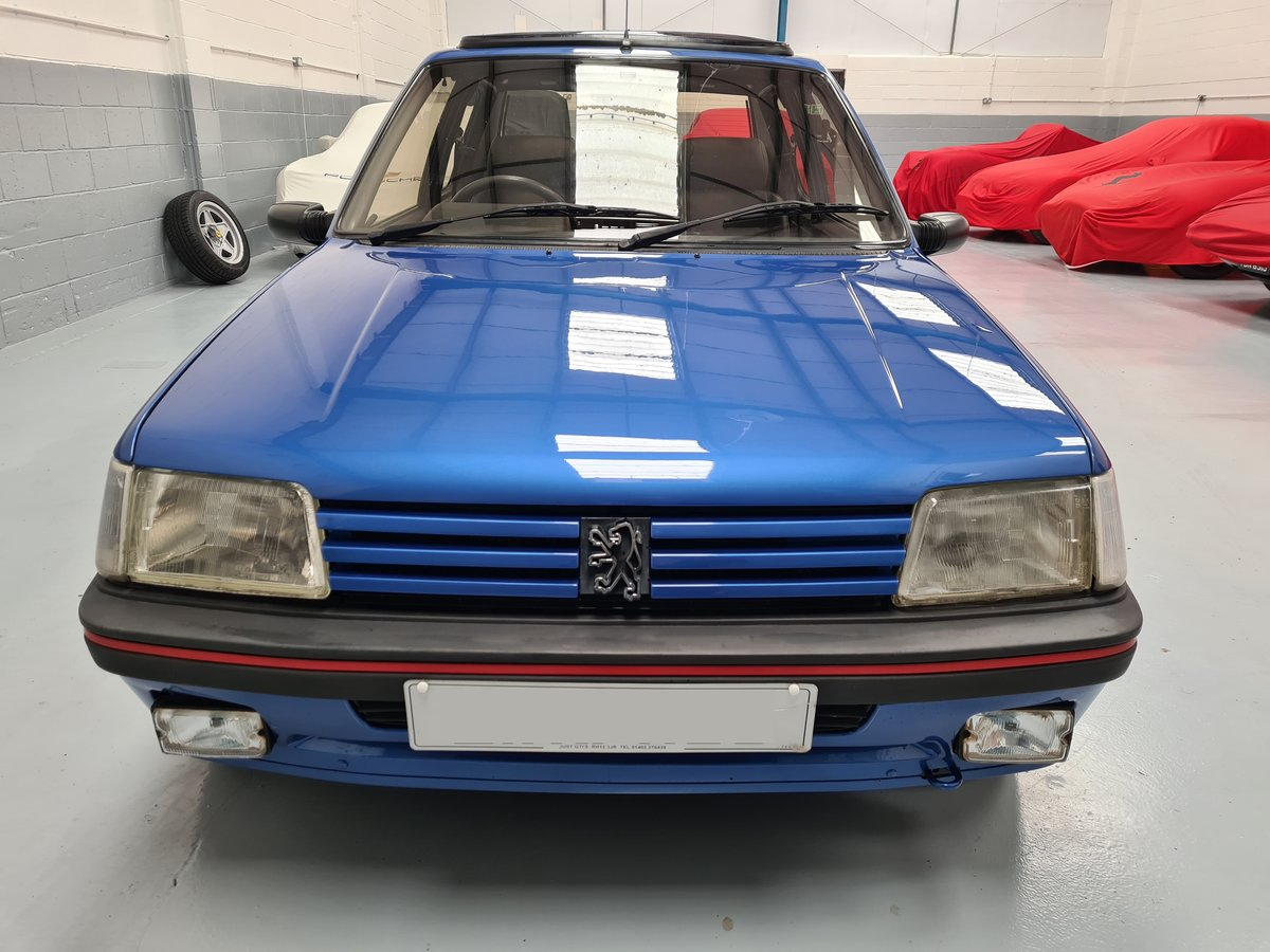 1990 Peugeot 205 GTi 1.9 For Sale (picture 5 of 12)