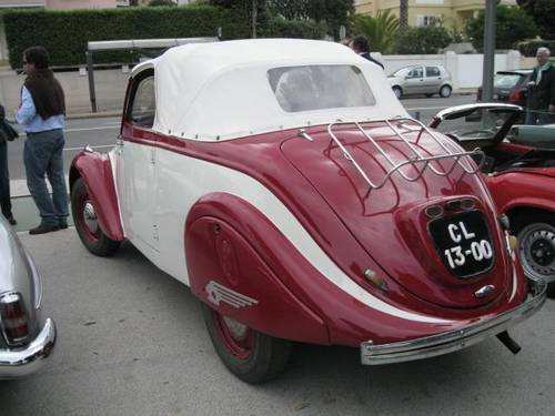 1947 Superb PEUGEOT 202 CABRIO For Sale (picture 2 of 6)