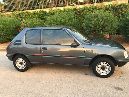 1991 Peugeot 205 Color Line 1.4 For Sale (picture 1 of 6)