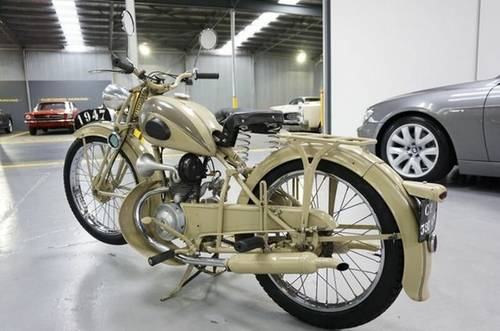 Peugeot 55TC 1954, 125cc For Sale (picture 3 of 6)