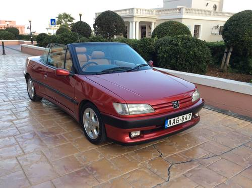 1996 PEUGEOT 306 CABRIOLET For Sale (picture 1 of 5)