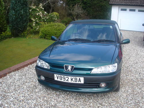 2000 Peugeot 306 Cabriolet For Sale (picture 2 of 6)