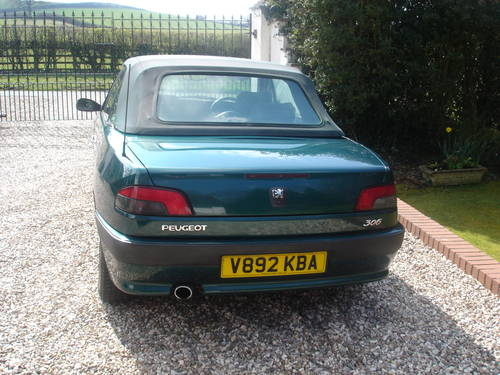 2000 Peugeot 306 Cabriolet For Sale (picture 3 of 6)