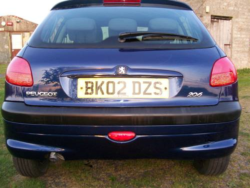 2002 Peugeot 206 LOOK 1.1  For Sale (picture 3 of 6)
