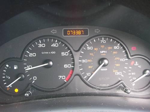 Peugeot 206 Fever 1.4 Black 2004 New MOT For Sale (picture 6 of 6)