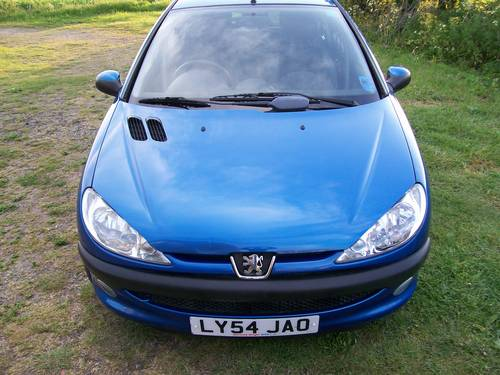 Peugeot 206 Zest 1.1 2004 Year For Sale For Sale (picture 2 of 6)