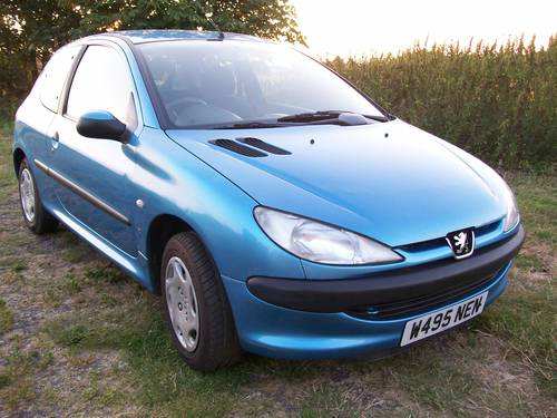 Peugeot 206 LX 2000 Reg. 1.1 For Sale For Sale (picture 1 of 6)