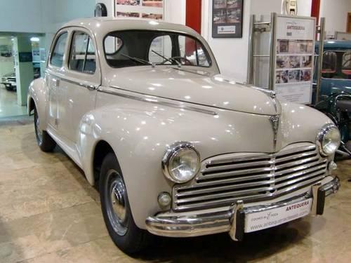 PEUGEOT 203 C SEDAN - 1957 For Sale (picture 1 of 6)