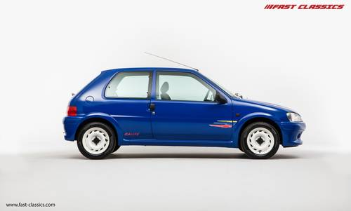 1998 PEUGEOT 106 RALLYE // 1 OF 250 UK CARS // SOLD SOLD (picture 1 of 6)