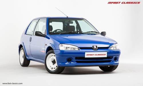 1998 PEUGEOT 106 RALLYE // 1 OF 250 UK CARS // SOLD SOLD (picture 2 of 6)